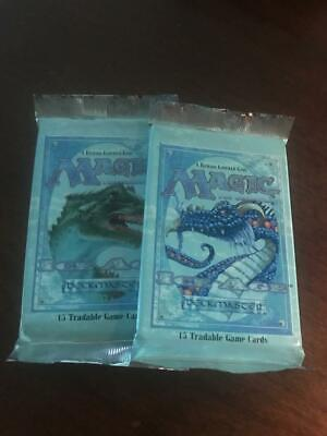 Ice Age Booster Pack Lot of 2 Sealed Packs Magic the Gathering MTG