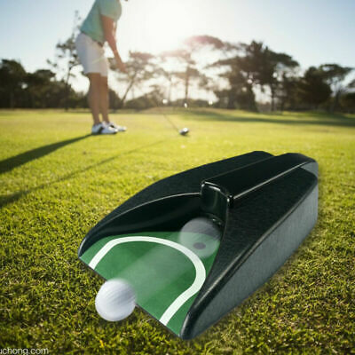 Portable Golf Putting Automatic Return Ball Kick Back Battery Device Practice