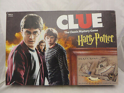 Clue Harry Potter Special Edition Classic Mystery Board Game USAopoly EUC