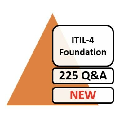 ITIL 4 Foundation  ITIL-4-FOUNDATION Exam 80 Q&A PDF ONLY NEW!!