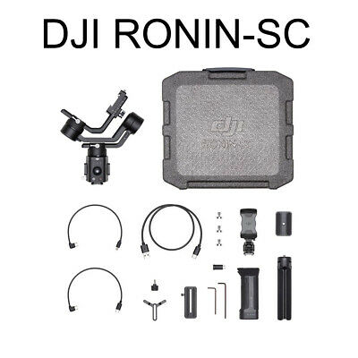 DJI Ronin-SC CP.RN.00000040.01 Gimbal Stabilizer with Accessories