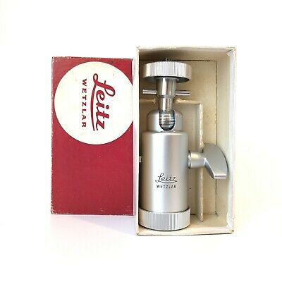 Leica Leitz Wetzlar 14121 Ball Head Germany Box Papers Excellent Condition