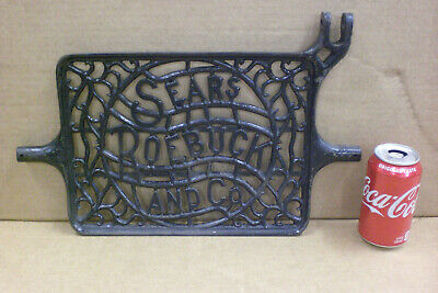 Antique Sears Roebuck Treadle Sewing Machine Cast Iron Foot Pedal  Steampunk