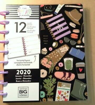 """2020 me & my BIG Ideas The Happy Planner """"YOUR BEST YEAR YET"""" Classic 12-Mo"""