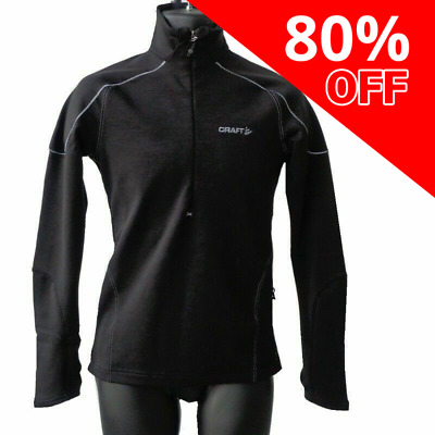 Craft Woolstretch Performance Layer 2 Mens Pullover - Ideal For Bikers!