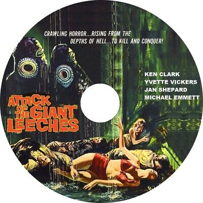 1959 Attack of the Giant Leeches Cult Horror movie poster 24x36 inches
