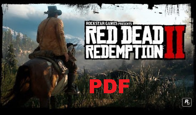 Red Dead Redemption 2 - The Complete Official Guide - PDF Digital Download