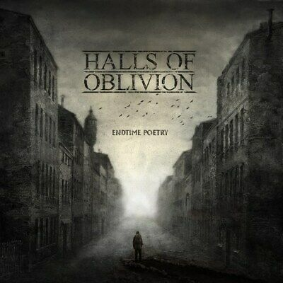 HALLS OF OBLIVION - Endtime Poetry - CD, Digipak, 2019 Neu New