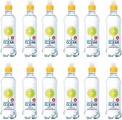 Perfectly Clear Still Lemon & Lime Flavoured Water 500ml x 12