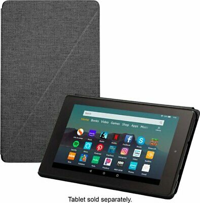 Amazon Fire HD 8 Tablet Case (Compatible 7th, 8th Gen, 2018 Releases) Black