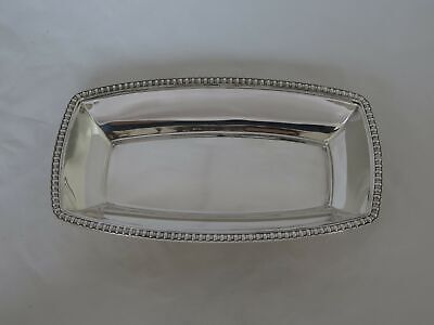 Antique Tiffany Heavy Sterling Silver Large Relish Tray