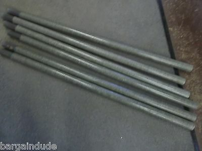 16' FOOT FIBERGLASS ANTENNA TOWER MAST SECTIONS POLE POLES USED VERY GOOD 4 pc.