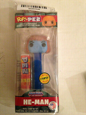 Funko Pop Pez Masters Of The Universe He Man Faker Limited Edition Chase New