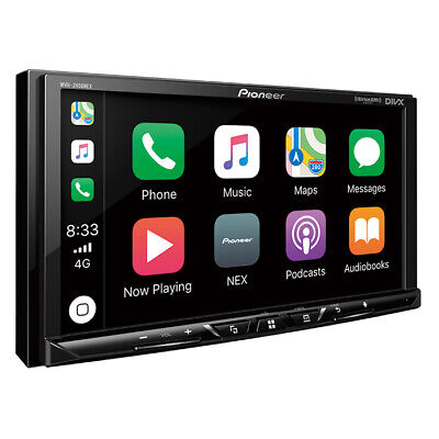 "Pioneer MVH-AV251BT 2 DIN MP3 Digital Media Player 7"" Bluetooth CarPlay Android"