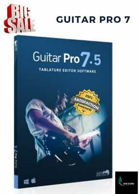 Promo - Guitar Pro 7.5 - Full Activated Version / Download Link - Lifetime -