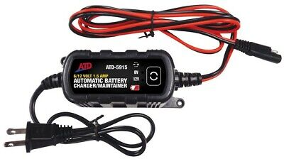 6V/12V Automatic Battery Charger/Maintainer ATD-5915 Brand New!