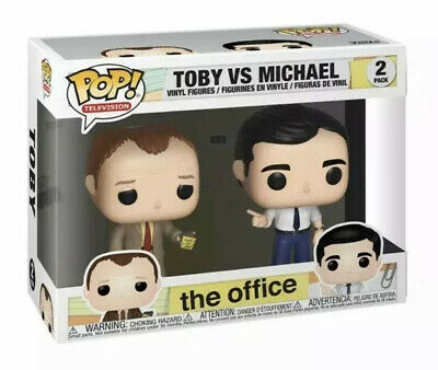Funko Pop TV: The Office - Toby Vs Michael 2 Pack Vinyl Figure