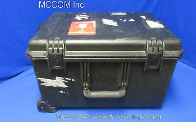 Inner Space Cases Black Ship Case w/ foam, wheels for any purpose
