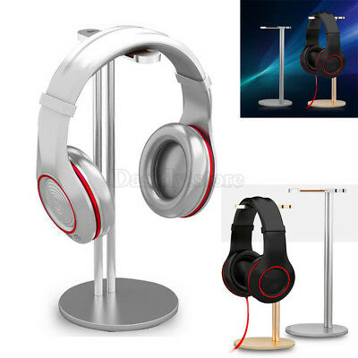 Universal Aluminum Earphone Headset Hanger Headphone Desk Display Holder Stand