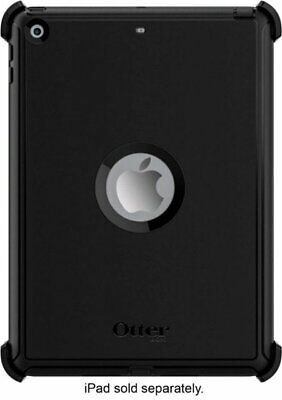 OtterBox 7755876 Defender Case for Apple iPad 5th and 6th Generation - Black 9.7