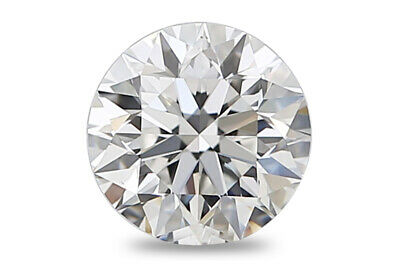 0.52 CT Cvd Diamant Labo Grown Desseré Coupe Ronde Certifié Igi I / VS2 de