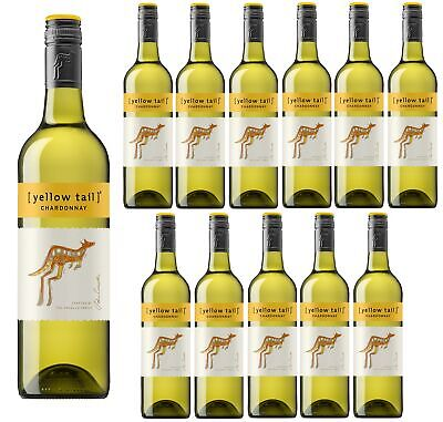 Yellowtail Chardonnay White Wine Case (12 bottles) Fast & Free Shipping!