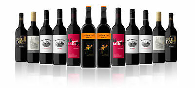 Xmas All Time Favourite Red Wine Mix w/ Yellow Tail Merlot (12 Bottles) RRP $189