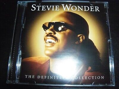 Stevie Wonder The Definitive Collection Vey Best of Greatest Hits (Australia) CD