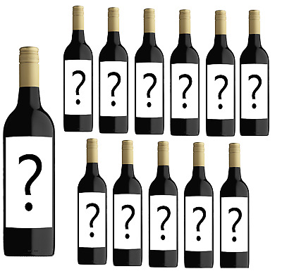 Mystery Secret Winery Cabernet Merlot 2018 (12 Bottles)