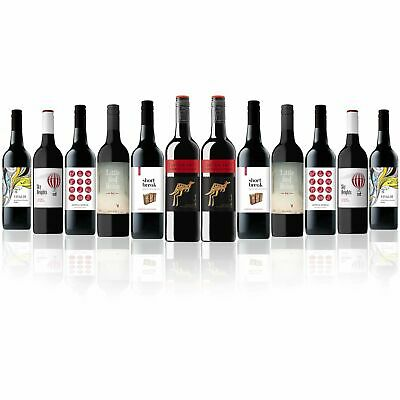 Australian Favourite Mixed Red Wines Featuring Cab Sauv Yellow Tail (12 Bottles)