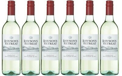 Rawson's Retreat Semillon Sauvignon Blanc 2017 (12 Bottles) Free Shipping