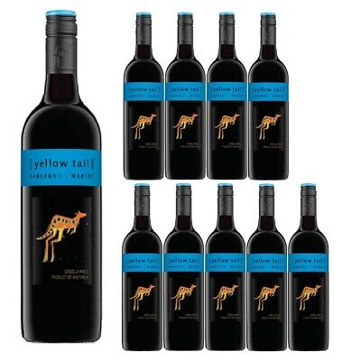 Yellow Tail Cabernet Merlot Red Wine Case (12 bottles) Fast & Free Shipping