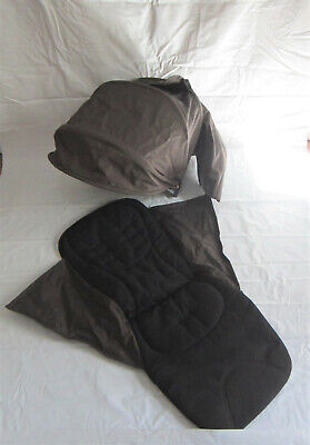 Mamas & Papas Armadillo original Hood and Seat Fabric With Harness Brown