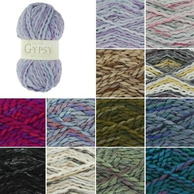King Cole Gypsy Super Chunky Knitting Yarn Knit Craft Wool Crochet 100g Ball