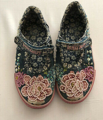 Giris Lelli Kelly Shoes Size Uk 12 Infant Euro 30 Good Condition Pink And Blue