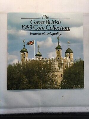 """The GB 1983 Coin Collection In """"BU"""" Condition. 2 Available. Price Is For 1 Set"""