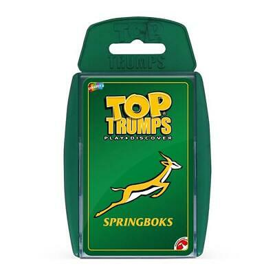 Top Trumps Educational Fun Card Game - SPRINGBOKS