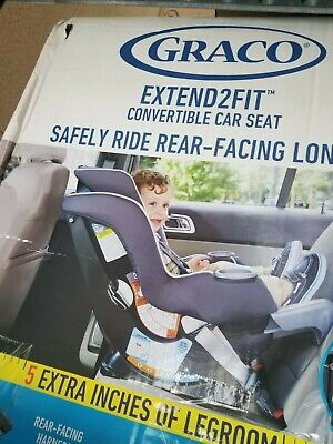 Graco Extend2Fit Convertible Car Seat | Ride Rear Facing Longer with Extend2Fit