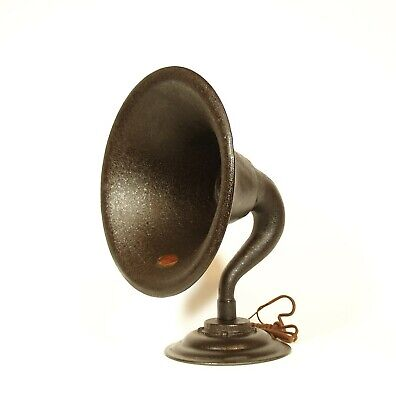 1924 Atwater Kent Model R Horn Radio Speaker * Excellent Condition * Good Driver