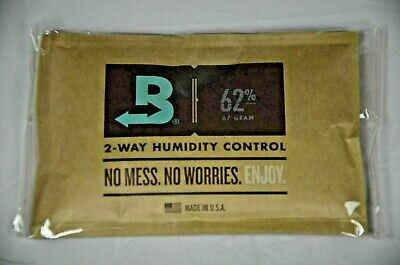 Boveda 62% RH 2-Way Humidity Control -Large 67 gram INDIVIDUALLY WRAPPED 1 packs