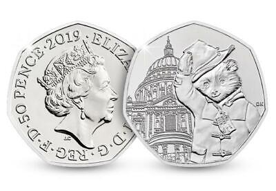 Paddington Bear @ St. PAULS CATHEDERAL BRAND NEW 50P Coin BUNC Fifty Pence Piece