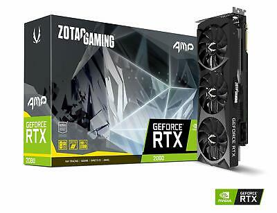 ZOTAC GAMING GeForce RTX 2080 AMP 8GB GDDR6 256-bit Gaming Graphics Card Trip...