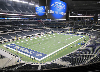 Dallas Cowboys vs. REDSKINS - Mezzanine Silver Corner - GREAT SEATS!