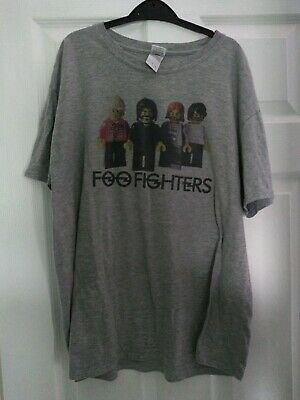 OFFICIAL Foo Fighters T-shirt Elder Black Dave Grohl Small XLarge XXL