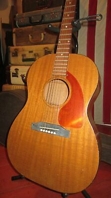 Vintage Original 1966 Gibson LG-0 Small Bodied Acoustic Guitar With Soft Case