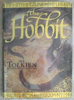 The Hobbit ~ Jrr Tolkien ~ Illustrated Alan Lee ~ Hardcover