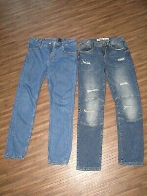 2 Pairs of Boys Jeans 11-12 Years - Excellent Condition