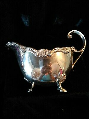 Gravy Boat 1847 Roger Bros Remembrance Silver Plate 9813