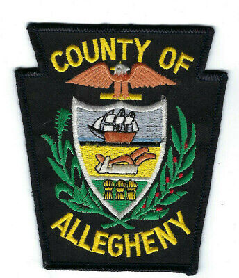 County of Allegheny PA Pennsylvania patch - NEW! *Cloth Back*