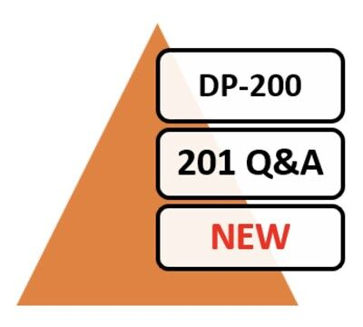 Updated DP-200 ExamQA 192 Q&A PDF Only!